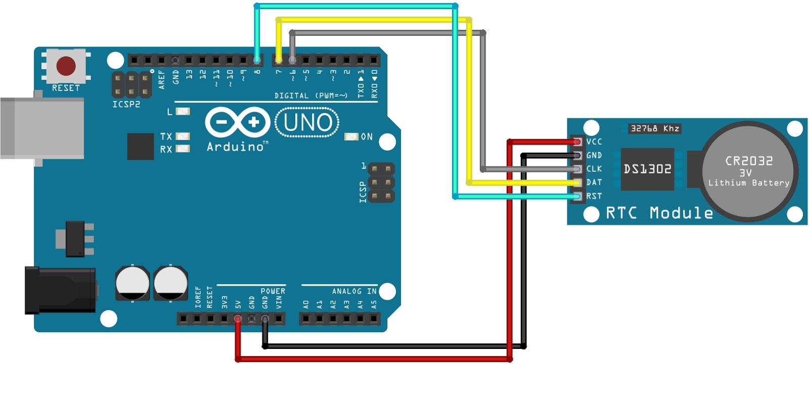 Arduino-DS1302